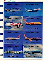 Commemorative Aircraft Cards, 1996